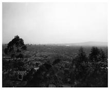 <i>Long Beach from Signal Hill, Looking toward Palos Verdes, California</i> 1988 Vintage silver print 11 x 14 inches; 28 x 36 cm