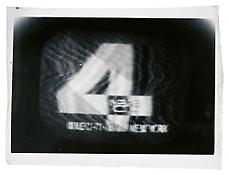 <i>NBC-4  New York</i> c. 1965 Vintage silver print 4 3/4 x 7 inches; 12 x 18 cm