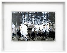 Gerhardt Richter <i>Sils - Maria</i> 1992 Oil on photograph 13 x 19 1/4 inches; 33 x 49 cm