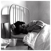<i>Girl Sucking Her Thumb, Florence</i> 1958 Gelatin-silver print Image: 10 5/8 x 10 5/8 inches; 27 x 27 cm Sheet: 16 5/8 x 14 inches; 42 x 36 cm