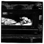 <i>Palermo Catacombs 2</i> 1963 Gelatin-silver print 14 1/2 x 14 3/4 inches; 37 x 37.5 cm