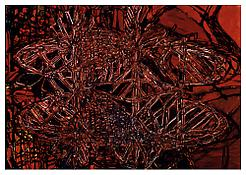 <i>Graphic Primitives, 8</i> 1998 Oil and alkyd resin on linen 75 x 108 inches; 191 x 274 cm