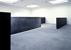 Installation view of <i>Richard Serra To Whom it May Concern</i> 522 W 22 Street