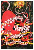Weisser <i>Country Joe & the Fish, Incredible String Band and Albert Collins. Fillmore Auditiorium, May 16-18, 1968</i> 1968 Offset lithograph 21 1/8 x 13 7/8 inches; 54 x 36 cm