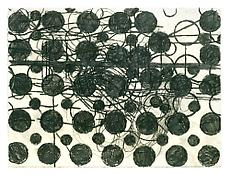 <i>Stuttering Processes</i> 2002 Charcoal on paper 22 3/8 x 30 inches; 57 x 76 cm