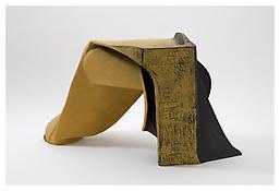 <i>Untitled</i> 2008 Papier-mâché, acrylic paint 18 x 22 1/2 x 30 inches; 46 x 57 x 76 cm View 2