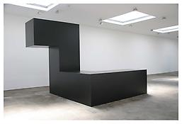 <i>Night</i> 1962 Steel, painted black 144 x 144 x 192 inches; 366 x 366 x 488 cm