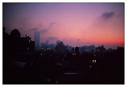 Nan Goldin <i>Skyline from my window, NYC</i> 1999 Cibachrome 30 x 40 inches 76 x 102 cm