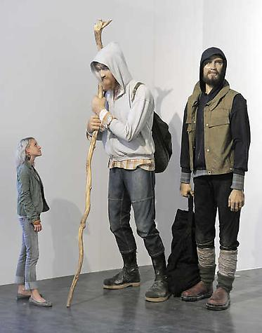 Martin Honert, <i>Giants</i>, installed at the Albertinum Museum, Dresden, Germany