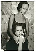 <i>Roommate with her sister, Boston</i> 1972 Gelatin silver print 20 x 16 inches; 51 x 41 cm