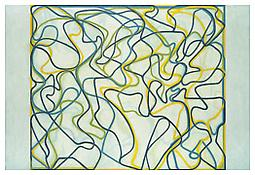 <i>Third Letter</i> 2006-2009 Oil on linen 96 x 144 inches; 244 x 366 cm