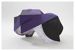 <i>Untitled</i> 2008 Papier-mâché, acrylic paint 15 3/4 x 28 1/2 x 19 inches; 40 x 72 x 48 cm View 2