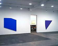 Installation view of <i>Ellsworth Kelly: Recent Painting and Sculpture</i> 523 W 24 Street