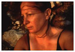 &lt;i&gt;Self-portrait on the rocks, Levanzo, Sicily&lt;/i&gt;