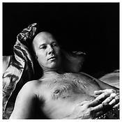 <i>Ray Johnson</i> 1975 Gelatin-silver print 14 3/4 x 14 3/4 inches; 37.5 x 37.5 cm
