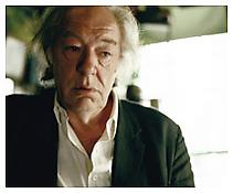<i>Michael Gambon</i> 2003 C-print mounted on aluminum 32 1/2 x 40 inches; 83 x 102 cm