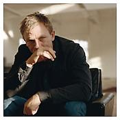 <i>Daniel Craig</i> 2003 C-print mounted on aluminum 34 5/8 x 34 5/8 inches; 88 x 88 cm