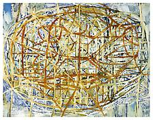 <i>Range</i> 1997 Oil, alkyd resin on linen 76 x 99 inches; 193 x 252 cm