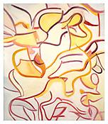 <i>Untitled</i> 1987 Oil on canvas 88 x 77 inches; 224 x 196 cm