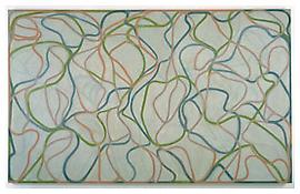 Brice Marden <i>Study for the Muses (Eagles Mere Version)</i> 1991-94 / 97-99 Oil on linen 82 1/2 x 134 1/2 inches