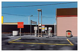 <i>Texaco</i> 1996 Oil on canvas 37 x 57 inches; 94 x 145 cm