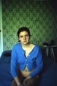 Nan Goldin <I>Siobhan at the A-House: #1, Provincetown</i> 1990  Cibachrome  40 x 30 inches; 102 x 76 cm