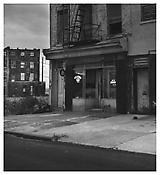 <i>Bar, Brooklyn</i> 1975 Gelatin-silver print 14 5/8 x 14 5/8 inches; 37 x 37 cm