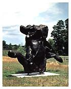 "<i>Standing Figure</i> 1969-84 Bronze 12'4"" x 21' x 6'8"""