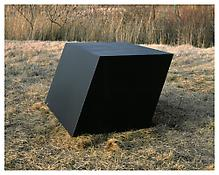 <i>For J.W.</i> 1969 Welded bronze, black patina 33 x 60 x 46 inches; 84 x 153 x 117 cm