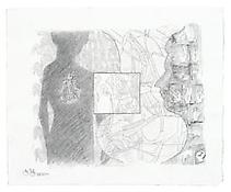 <i>Untitled</i>, 2010, Graphite and powdered graphite on paper, 15 3/4 x 19 1/4 inches; 40 x 49 cm