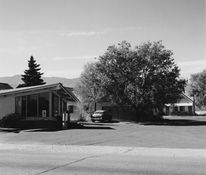 <I>Motel, Colorado Springs, Colorado</i> 1968 Gelatin silver print  5 1/8 x 6 inches; 13 x 15 cm