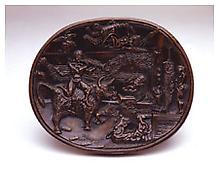 <i>Propaganda for War</i> 1939-40 Bronze 11 3/8 x 9 5/8 inches