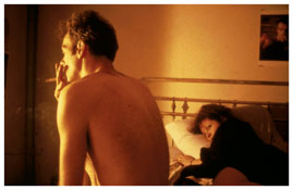 <i>Nan and Brian in Bed, NYC</i> 1983 Cibachrome 20 x 24 inches; 51 x 61 cm