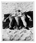 <i>Coney Island</i> 1955 Vintage silver print 10 x 8 1/8 inches; 25 x 21 cm