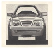 <I>500 SL #1</i> 1991 Graphite on paper  22 x 24 inches; 56 x 61 cm