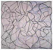 <i>Vine</i> 1991-93 Oil on linen 96 x 102 inches; 244 x 260 cm