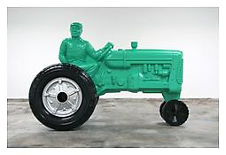 <i>Father Figure</i> 2007 Painted steel 93 3/4 x 137 1/4 x 71 3/4 inches; 238 x 349 x 182 cm