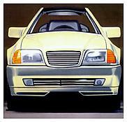 <i>500 SL #3</i> 1992 Oil on linen 67 x 70 inches; 170 x 178 cm