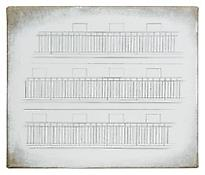 <i>17. April 2007</i> 2007 Gesso, collage and graphite on linen 8 3/4 x 10 3/8 inches 22 x 26 cm