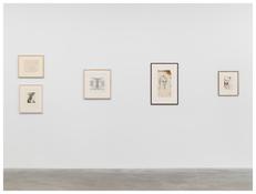 Willem de Kooning, Betty Tompkins, Jasper Johns, Julian Schnabel, Lucian Freud