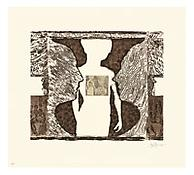 <i>Shrinky Dink 2</i>, 2011, Intaglio on Revere Standard White, Plate: 20 x 24 inches; 51 x 61 cm, Sheet: 28 3/4 x 31 3/4 inches; 73 x 81 cm