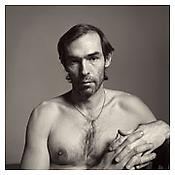 <i>Self-Portrait (with String around Neck)</i> 1980 Gelatin-silver print Sheet: 20 x 16 inches; 51 x 41 cm