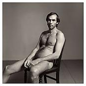 <i>Self-Portrait, Seated</i> 1980 Gelatin-silver print Sheet: 20 x 16 inches; 51 x 41 cm