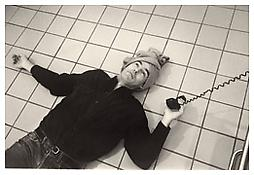 <i>Peter as Cindy</i> 1982 Gelatin-silver print Sheet: 16 x 20 inches; 41 x 51 cm