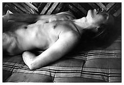 <i>Paul Thek Masturbating</i> 1967 Gelatin-silver print Sheet: 14 x 17 inches; 36 x 43 cm