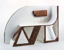 <i>Untitled</i> 2003 Papier-mâché, acrylic paint, balsa wood 11 3/4 x 16 3/4 x 12 1/4 inches; 30 x 43 x 31 cm