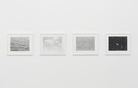 Vija Celmins <I>Untitled Portfolio</i> 1975 Four Lithographs on Twinrocker Handmade Rag Each: 12 3/8 x 16 3/8 inches; 31 x 42 cm