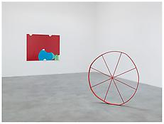 <i>The Red Meeting the Blue</i> and <i>The Wonky Wheel (Red)</i>
