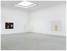 <i>The Blind Major</i>, <i>The Wonky Wheel (Yellow)</i>, and <i>The Mound</i>