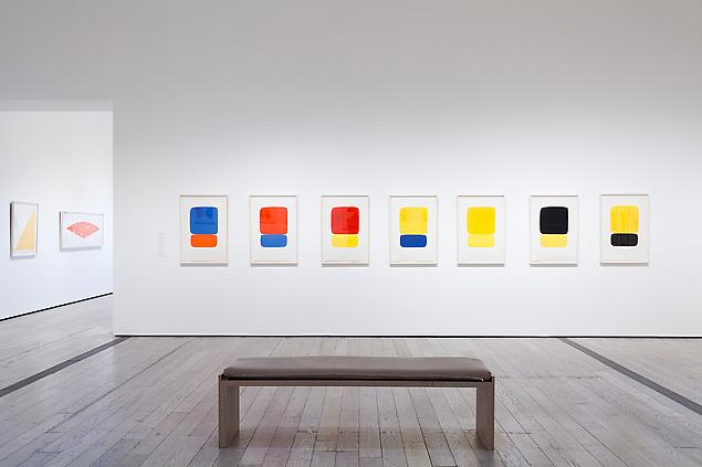 Ellsworth Kelly prints installed at the Los Angeles County Museum of Art. More on the exhibition &lt;a href=&quot;http://www.huffingtonpost.com/2012/02/10/ellsworth-kelly-lights-up-lacma_n_1269130.html?ref=arts&quot;&gt;here.&lt;http://www.huffingtonpost.com/2012/02/10/ellsworth-kelly-lights-up-lacma_n_1269130.html?ref=arts&gt;&lt;/a&gt;